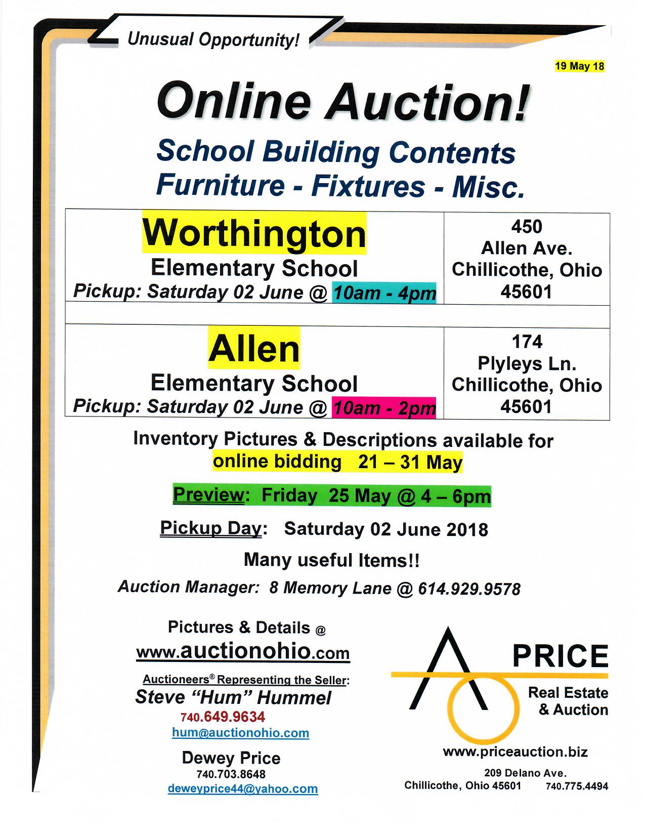 CCSD Auction 2018