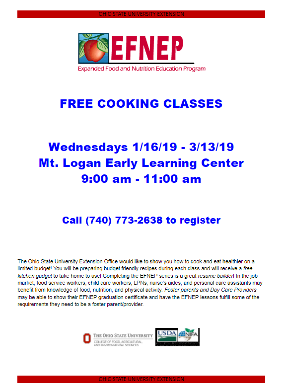 Cooking Class 2019