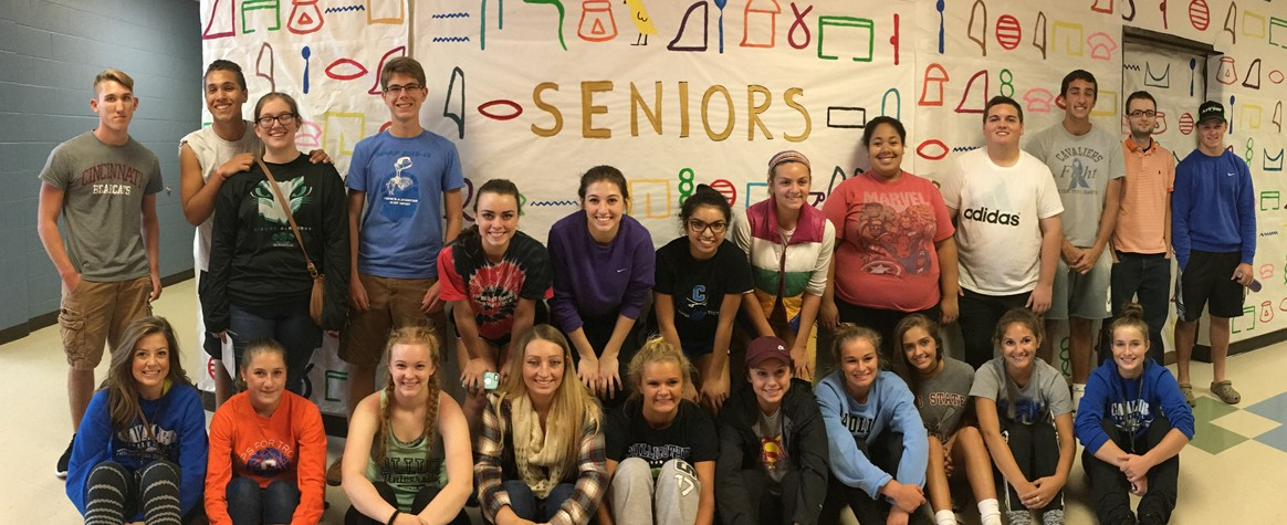 <b>Members of the Class of 2017 brought Egypt to CHS<b>