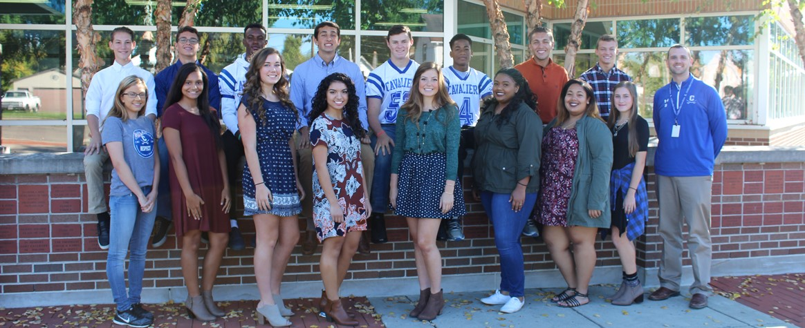 <b>Congratulations to the 2016 Homecoming Court!<b>