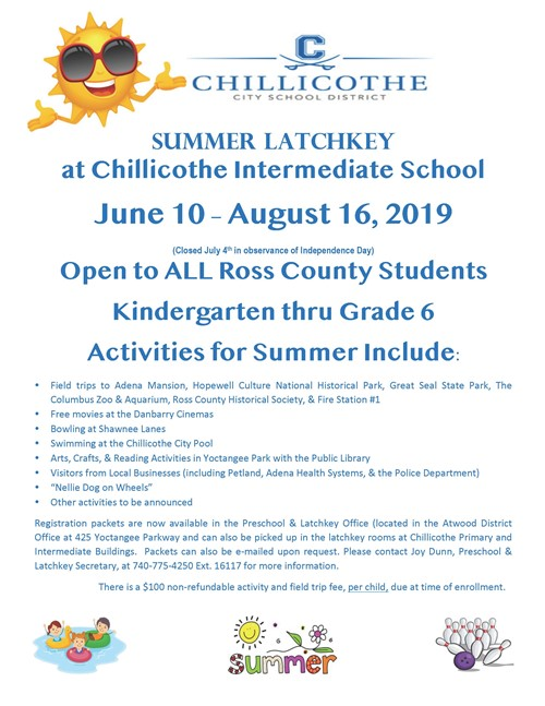 Summer 2019 Latchkey